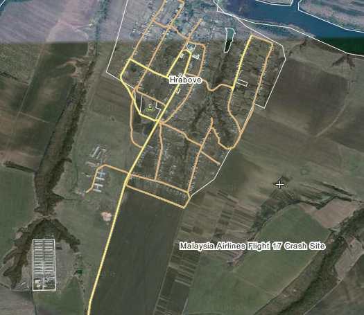 Malasia Airline Flight Crash Site Google Satellite Maps Milloz - Satellite map sites