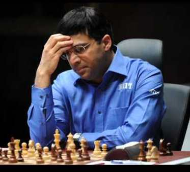 vishanathan anand in world chess championship 2012 tie breaker rapid game play