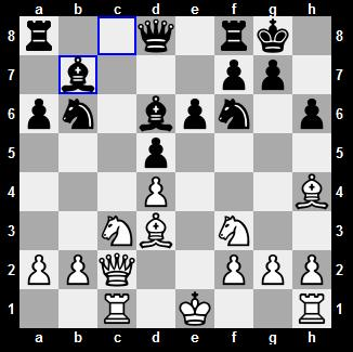 world chess championship 2012 seventh game opening position after 14 moves